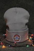 Стильная шапка в стиле конверс в 2 цветах, зимняя шапка в стиле конверс