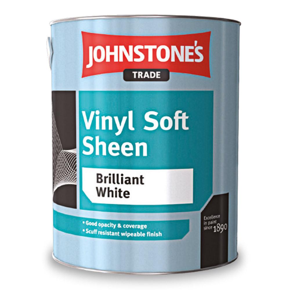Виниловая краска Johnstones Vinyl Soft Sheen 10л
