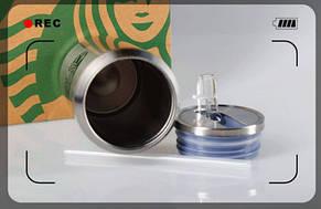 Банка Vacuum Cup Starbucks (цвет -сталь), фото 3
