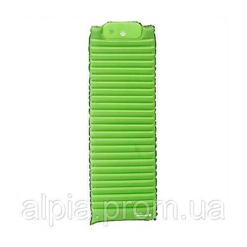 Надувной коврик-матрас Caribee Air Plus+Pad 190x63x8 Green