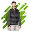Куртка унисекс из двойного материала SOL'S VOLCANO, Черная, с нанесением логотипа, 01644, фото 5