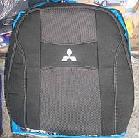 Автомобильные чехлы на сидения PREMIUM MITSUBISHI ASX 2010г… з/сп закрытый тыл 1/3 2/3;подлок;5подгол;airbag