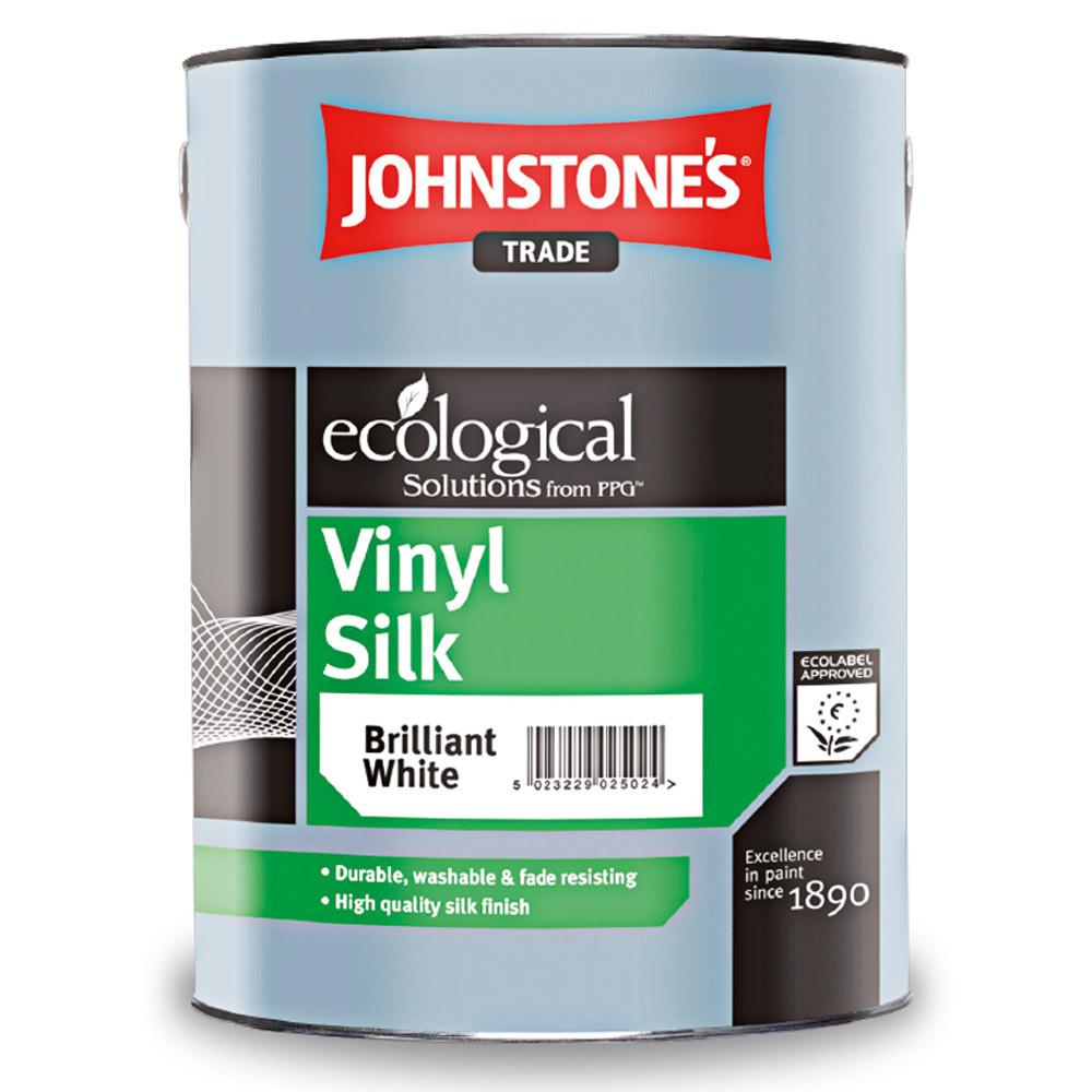 Виниловая краска Johnstones Vinyl Silk 5л