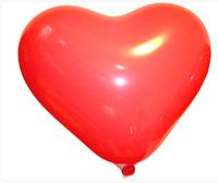 Воздушные шары 16 см пастель с рисунком сердце Gemar 57451