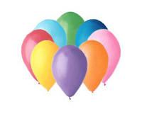 Воздушные шары 13см пастель ассорти Gemar 05801