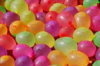 Повітряні кулі 8 см пастель фіолетовий Gemar 02801