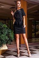 Платье Сетти черный