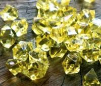 """Кристаллы """"Большие камни"""" осколки 1,5х1,5 см, 100 гр лимонный"""