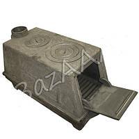 Печь-буржуйка чугунная (дерево-уголь)   90 кг