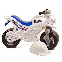 """Беговел """"Мотоцикл Полиция"""" с каской Орион (501Б)"""