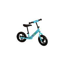 "Беговел детский 12"" M 3143-2 PROFI KIDS колеса EVA, пласт. обод, голубой"