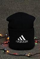 Молодежная шапка адидас, зимняя шапка адидас