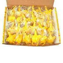 Антистресс игрушка - резиновая Курица несущая яйца, фото 2