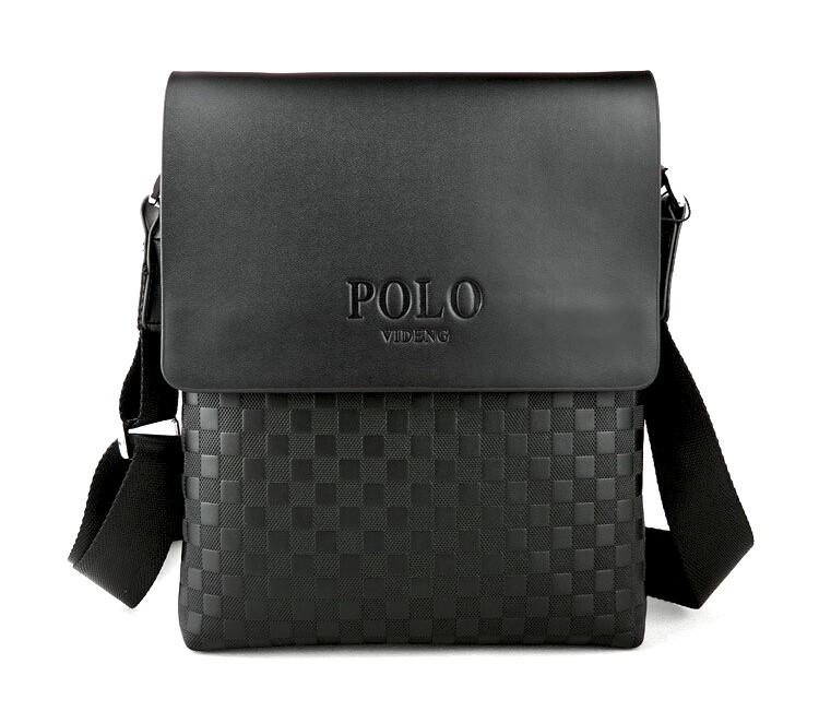 АКЦИЯ!!! Мужская сумка через плечо Polo Videng Paris.+ Подарок