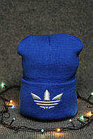 Модная шапка адидас в 2 цветах, зимняя шапка адидас