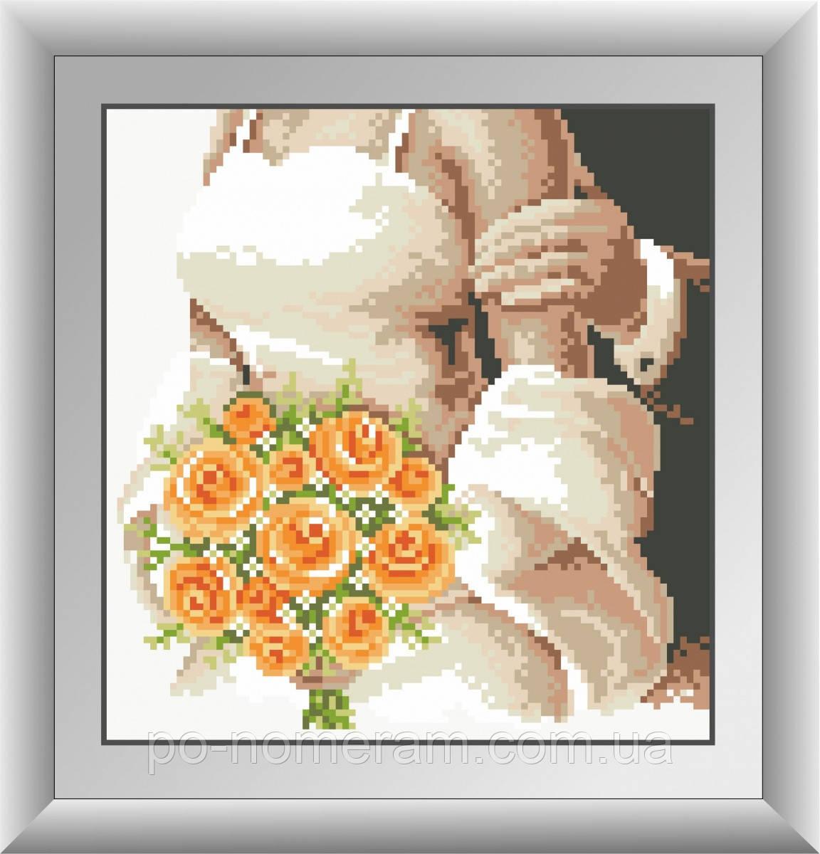 Набор алмазная вышивка Dream Art Букет невесты (DA-30352) 23 х 24 см (Без подрамника)