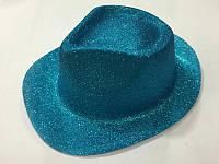 Шляпа блеск пластик 28,5*25см в ассортименте