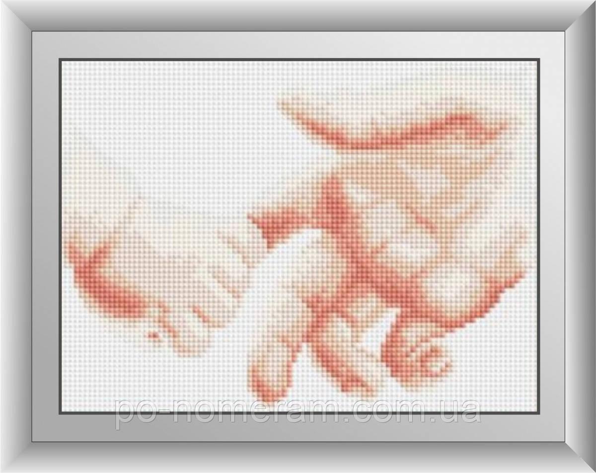 Картина алмазная вышивка Dream Art Маленькое счастье (DA-30376) 18 х 25 см (Без подрамника)