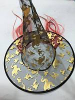 Шляпа ведьмы с волосами 37см (в ассортименте)