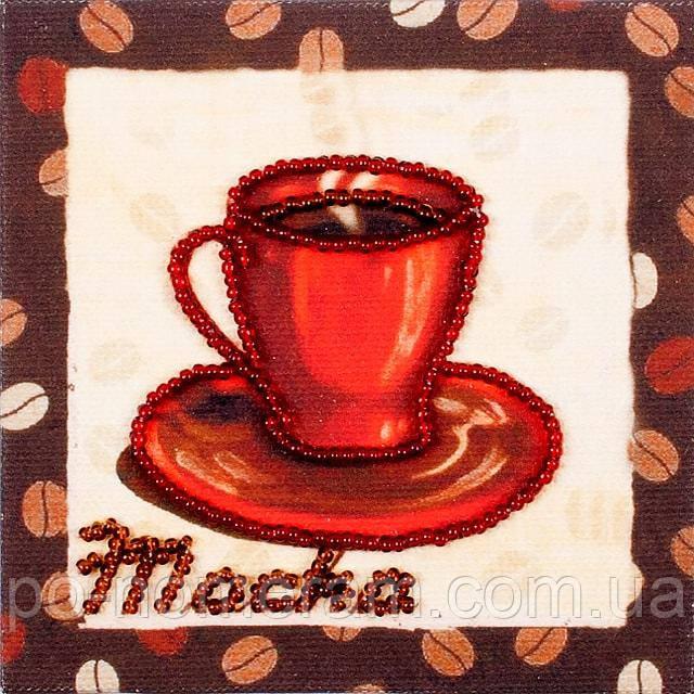 Набор для вышивки бисером магнита Волшебная страна Мокка (FLA071) 9 х 9 см