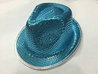 Шляпа блестящая 28*23см в ассортименте