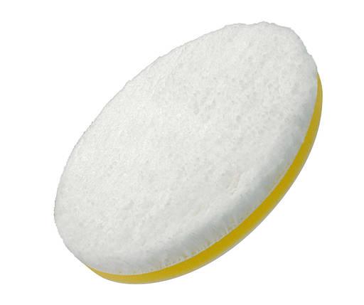 """Полировальный круг микрофибровый - Flexipads Microfibre Cutting 160 мм. (6"""") бело-желтый (MGCD6), фото 2"""