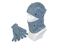 Комплект SHH-75 шапка снуд перчатки