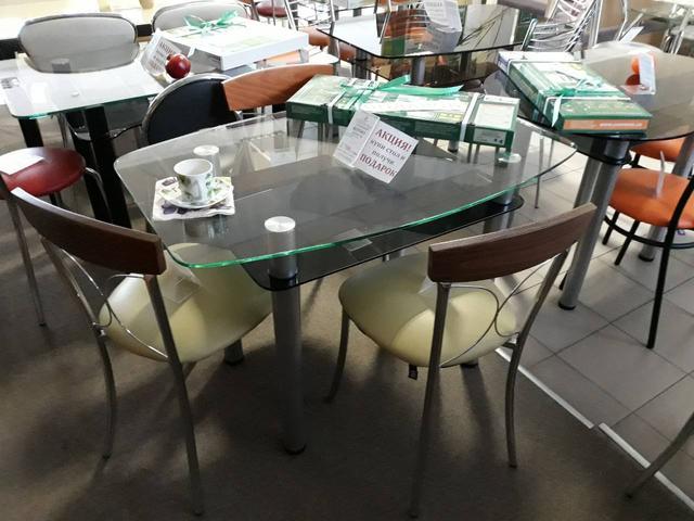 Днепр. Стол обеденный + Подарок. Выставка Commus™
