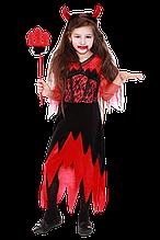 Детский карнавальный костюм Дьяволица