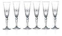 RCR Calp Набор бокалов для шампанского Melodia 160 мл 238460