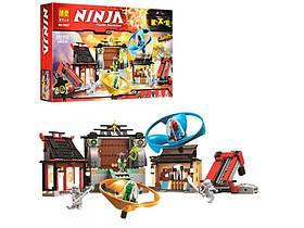 """Конструктор Brick NINJA 686 деталей10527 """"Боевая площадка Аэроджитцу"""" (ninjago, ниндзяго, ниндзя)"""