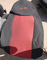 Авточехлы Smart ForTwo с 1998-2007 автомобильные модельные чехлы на для сиденья сидений салона SMART Смарт ForTwo