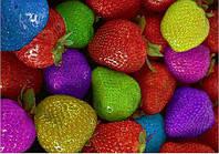 Семена разноцветной клубники!
