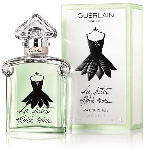 Парфюм женский La Petit Robe Noire Ma Robe Petales eau Fraiche сарафан (Зелёный ободок) 100 мл