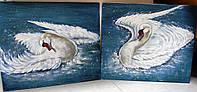 """Диптих """"Лебеди купаются..."""", фото 1"""