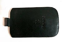 Чехол карман Iphone 3G/4G чёрный, мягкий распродажа