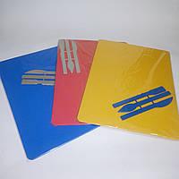 Пластиковая доска для пластилина с набором ножей (стеками) 250х185 мм