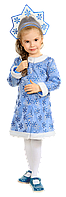 Детский карнавальный костюм Снегурочка 30