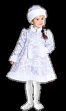 Дитячий карнавальний костюм Снігуронька муфта
