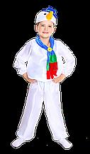 Дитячий карнавальний костюм Сніговика