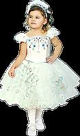 Детский карнавальный костюм Снежинка Узор