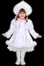 Дитячий карнавальний костюм Снігуронька