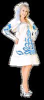 Карнавальный костюм Снегурочка Узор