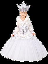Дитячий карнавальний костюм Снігова Королева