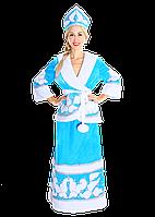 Карнавальный костюм Снегурочка с бубонами