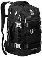 Удобный рюкзак для поездок36 л. Granite Gear Cross Trek 36 Black/Сhromium 924109, черный/серый