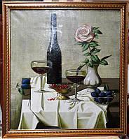 """Картина """"Натюрморт с розой"""""""