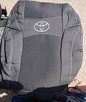 Автомобильные чехлы на сидения PREMIUM TOYOTA AURIS E150 2006-12г. з/сп и сид.2/3 1/3;5подгол;airbag