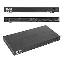 Сплиттер HDMI на 8 портов, разветвитель HDMI 1x8, HDTV PC 3D DVD Xbox PS4 PS3 Blu-ray