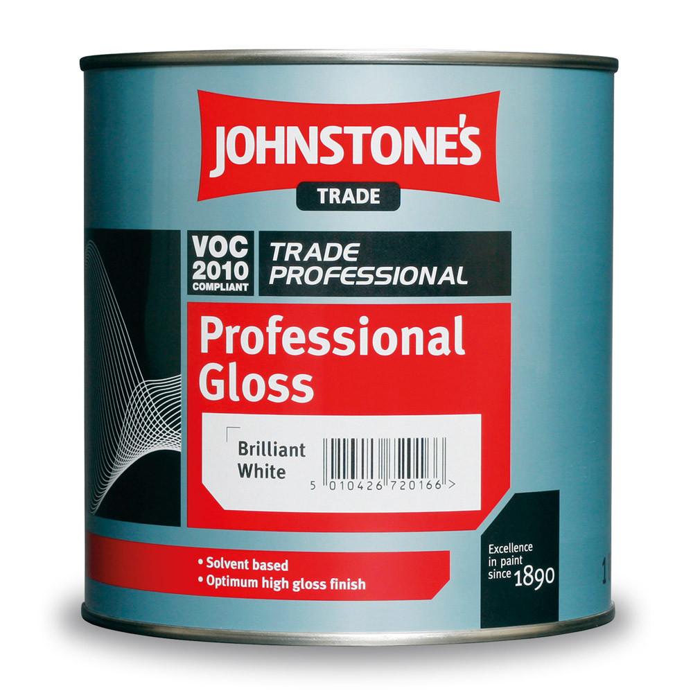 Алкидная Эмаль Johnstones Professional Gloss 1л